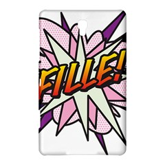 Comic Book Fille! Samsung Galaxy Tab S (8.4 ) Hardshell Case