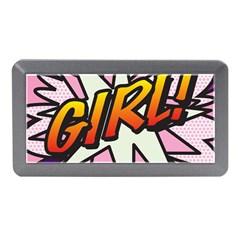 Comic Book Girl!  Memory Card Reader (Mini)