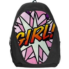 Comic Book Girl!  Backpack Bag