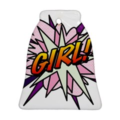 Comic Book Girl!  Ornament (Bell)