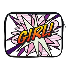 Comic Book Girl!  Apple iPad 2/3/4 Zipper Cases