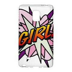 Comic Book Girl!  Galaxy Note Edge