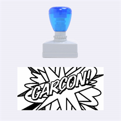 Comic Book Garcon! Rubber Stamps (medium)