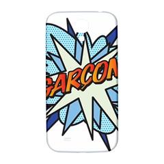Comic Book Garcon! Samsung Galaxy S4 I9500/I9505  Hardshell Back Case
