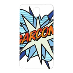 Comic Book Garcon! Samsung Galaxy Note 3 N9005 Hardshell Back Case