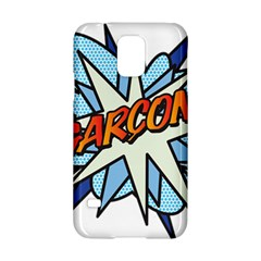 Comic Book Garcon! Samsung Galaxy S5 Hardshell Case