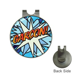 Comic Book Garcon! Hat Clips with Golf Markers