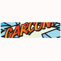 Comic Book Garcon! Large Bar Mats