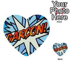 Comic Book Garcon! Multi-purpose Cards (Heart)