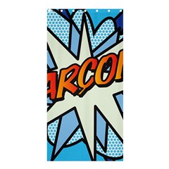 Comic Book Garcon! Shower Curtain 36  X 72  (stall)