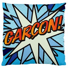 Comic Book Garcon! Large Cushion Cases (One Side)