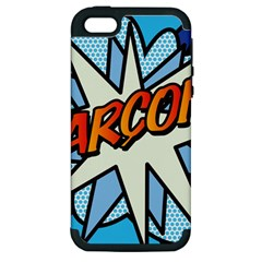 Comic Book Garcon! Apple iPhone 5 Hardshell Case (PC+Silicone)