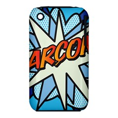 Comic Book Garcon! Apple iPhone 3G/3GS Hardshell Case (PC+Silicone)