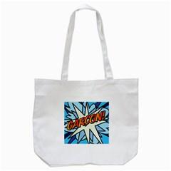 Comic Book Garcon! Tote Bag (White)