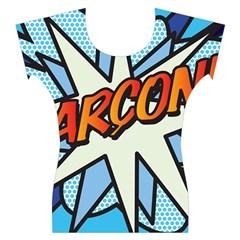 Comic Book Garcon! Women s Cap Sleeve Top