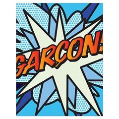 Comic Book Garcon! Drawstring Bag (Large)