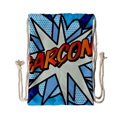 Comic Book Garcon! Drawstring Bag (Small)