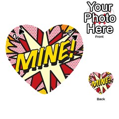 Comic Book Mine! Playing Cards 54 (Heart)