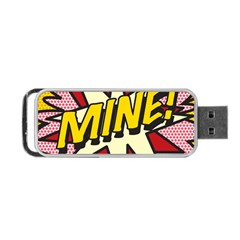 Comic Book Mine! Portable USB Flash (Two Sides)