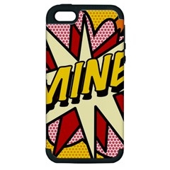 Comic Book Mine! Apple iPhone 5 Hardshell Case (PC+Silicone)