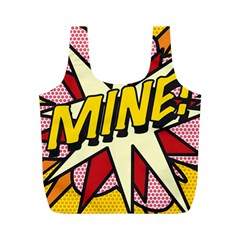 Comic Book Mine! Full Print Recycle Bags (M)
