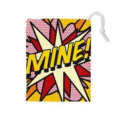 Comic Book Mine! Drawstring Pouches (Large)