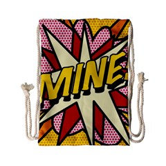 Comic Book Mine! Drawstring Bag (Small)