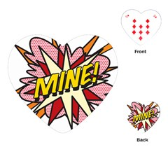 Comic Book Mine! Playing Cards (heart)