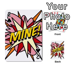 Comic Book Mine! Playing Cards 54 Designs