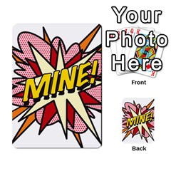 Comic Book Mine! Multi Purpose Cards (rectangle)