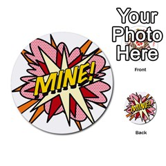 Comic Book Mine! Multi-purpose Cards (Round)