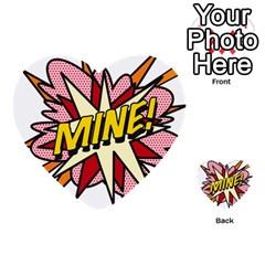 Comic Book Mine! Multi Purpose Cards (heart)
