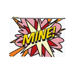 Comic Book Mine! Cosmetic Bag (Large)