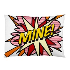 Comic Book Mine! Pillow Cases (two Sides)