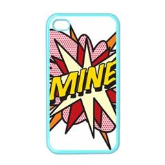 Comic Book Mine! Apple iPhone 4 Case (Color)
