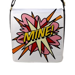 Comic Book Mine! Flap Messenger Bag (L)