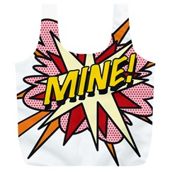 Comic Book Mine! Full Print Recycle Bags (L)
