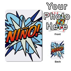 Comic Book Nino! Multi Purpose Cards (rectangle)