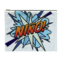 Comic Book Nino! Cosmetic Bag (XL)