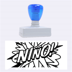 Comic Book Nino! Rubber Stamps (Large)