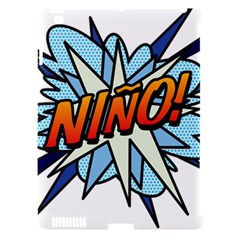 Comic Book Nino! Apple iPad 3/4 Hardshell Case (Compatible with Smart Cover)
