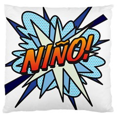 Comic Book Nino! Large Cushion Cases (Two Sides)