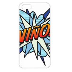 Comic Book Nino! Apple iPhone 5 Seamless Case (White)