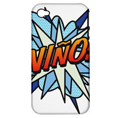 Comic Book Nino! Apple iPhone 4/4S Hardshell Case (PC+Silicone)