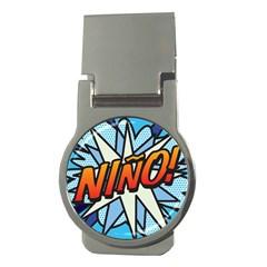 Comic Book Nino! Money Clips (Round)