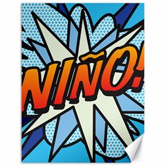 Comic Book Nino! Canvas 18  x 24