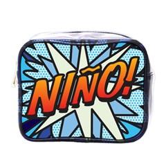 Comic Book Nino! Mini Toiletries Bags