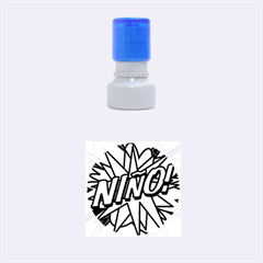 Comic Book Nino! Rubber Round Stamps (small)