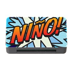 Comic Book Nino! Memory Card Reader With Cf