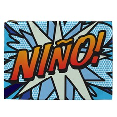 Comic Book Nino! Cosmetic Bag (XXL)